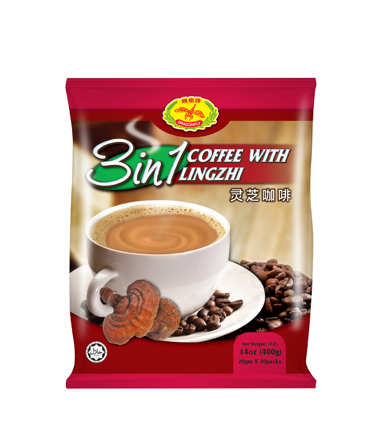 3in1 coffee lingzhi